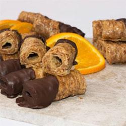 Chocolate dipped almond baklava - Saragli - 40g thumbnail