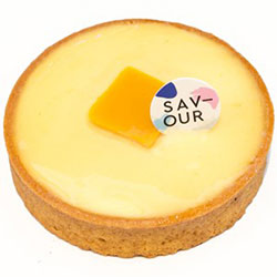 Passionfruit and mango tart thumbnail