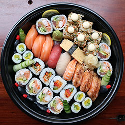 Mixed sushi medium platter - serves 4 thumbnail
