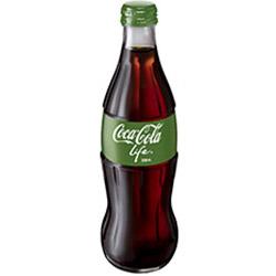 Coca Cola soft drink - glass bottles - 330ml thumbnail