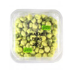 TMG Wasabi Peas - 200g Tub thumbnail