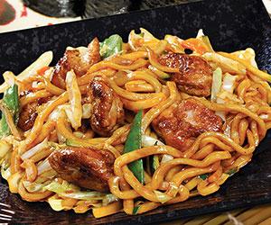 Chicken yaki udon thumbnail