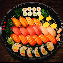 Nigiri and nori platter - serves 4 to 6 thumbnail