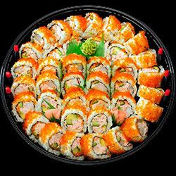 Seafood California nori maki platter - serves 8 thumbnail