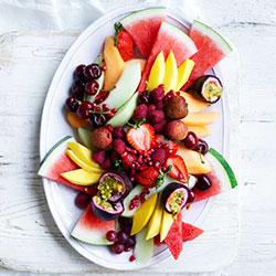 Fresh fruit platter - serves 10 thumbnail