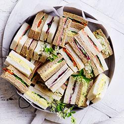 Assorted finger sandwiches - per finger thumbnail