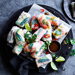 Chicken Vietnamese roll thumbnail
