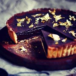 Chocolate ganache tart thumbnail