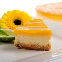 Lemon curd swirl cheesecake thumbnail