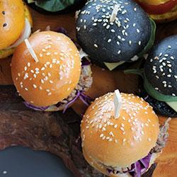 Bite size burger selection thumbnail
