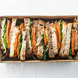 Salmon sandwich thumbnail