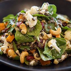 Super grain and cauliflower salad thumbnail