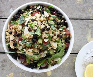 Pearl barley, celery and herb salad thumbnail