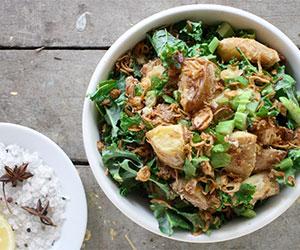 Roast potato and kale salad thumbnail