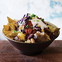 Chilli bean and salsa spud thumbnail