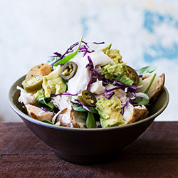 Chicken and avocado spud thumbnail