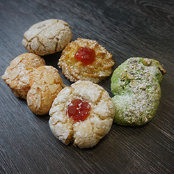 Gluten free and dairy free cookie - mini thumbnail