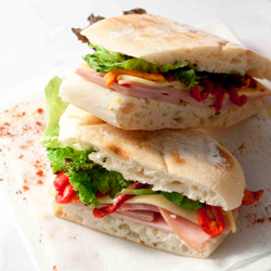 Assorted Turkish Pide sandwiches thumbnail