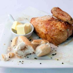 BBQ chicken quarters thumbnail