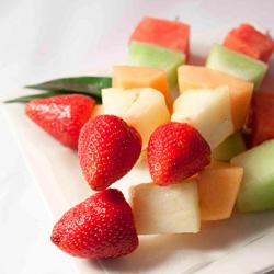 Fresh fruit skewers thumbnail