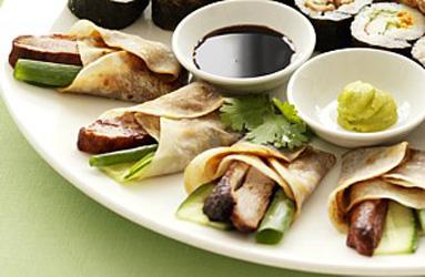 Peking duck pancake - mini thumbnail