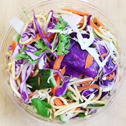Crispy shredded cabbage salad thumbnail