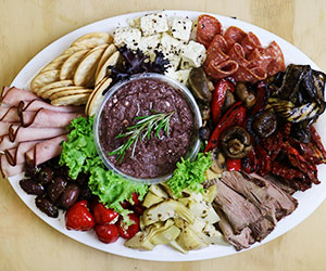 Antipasto platter - serves 15 thumbnail