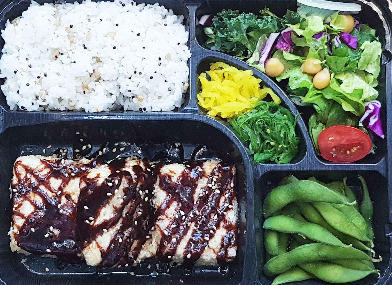 Tofu dengaku bento box thumbnail