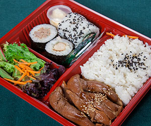 Teriyaki chicken bento thumbnail