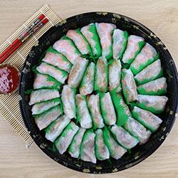 Mini rice paper roll platter thumbnail