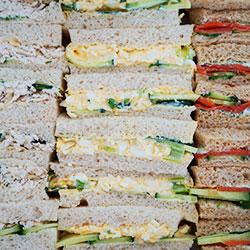 Finger sandwiches thumbnail