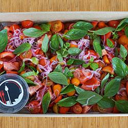 Heirloom tomato salad thumbnail