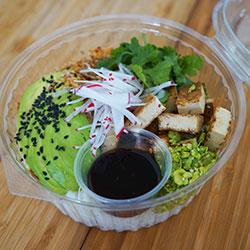 Marinated tofu bowl thumbnail