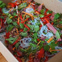 Vietnamese beef salad thumbnail