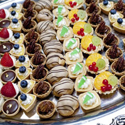 Cakes and slices platter thumbnail
