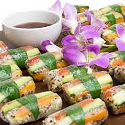 Rice paper roll platter thumbnail
