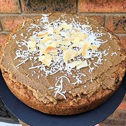 Carrot coconut cake thumbnail