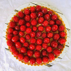 Raspberry tart thumbnail