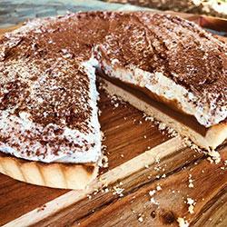 Chocolate tiramisu tart thumbnail