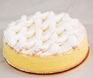 Apple St Moritz cheesecake - 28 cm - serves up to 18 thumbnail