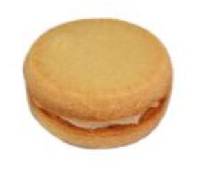 Passionfruit kiss biscuits - 7 cm thumbnail