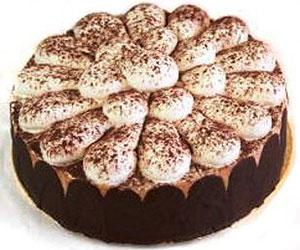 Tiramisu gateaux cake - 24 cm - serves up to 14 thumbnail