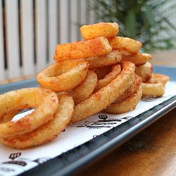 Onion rings - serves 4 thumbnail