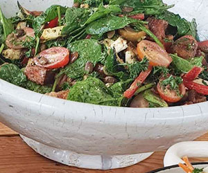 Panzenella salad thumbnail