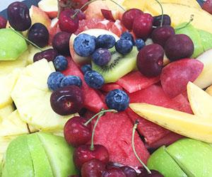 Lavish fresh fruit platter thumbnail