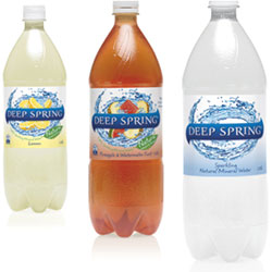Flavoured sparkling water - 1.25 litre thumbnail
