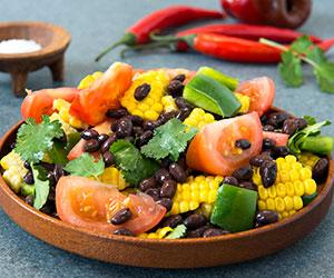 Corn and black bean salad thumbnail