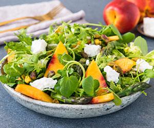 Festive nectarine salad thumbnail
