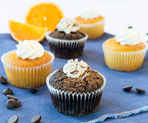 Individual flourless orange cake thumbnail