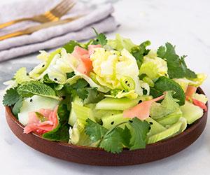 Iceberg lettuce and melon salad thumbnail